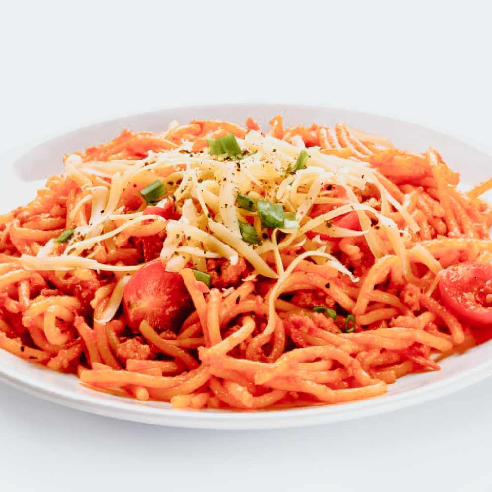 Fideos Con Tomate Y Setas